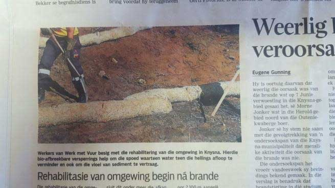 Media Die Burger article