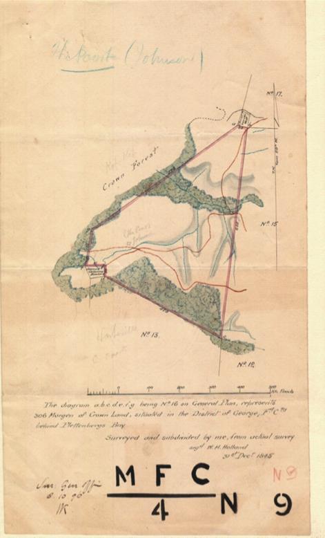 Map of De Poort