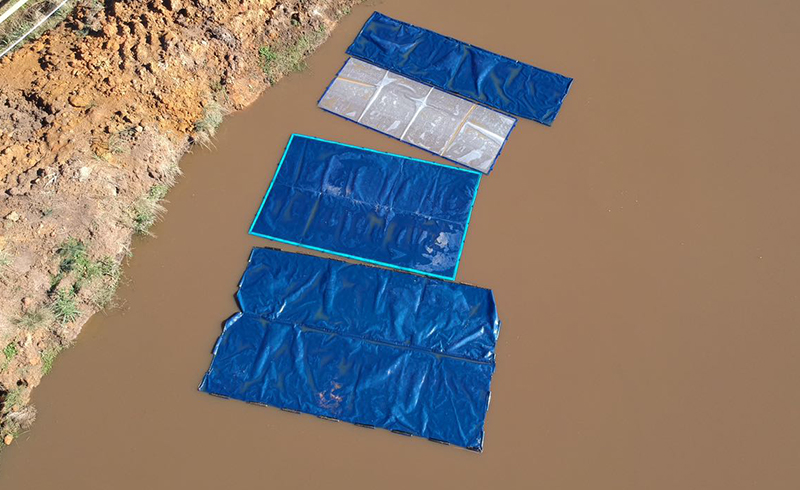 H20 WEP Water Evaporation Prevention from Above