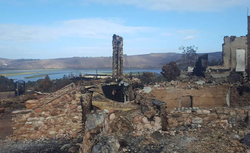 Environmental-Rehabilitation-Plan Wildfire Ruins