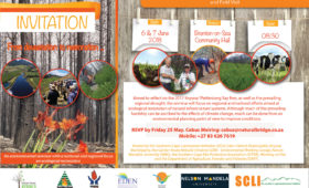 Garden Route Environmental Restoration Seminar, 6 & 7 June 2018