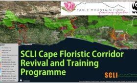 Presentation: SCLI Cape Floristic Corridor Revival Programme