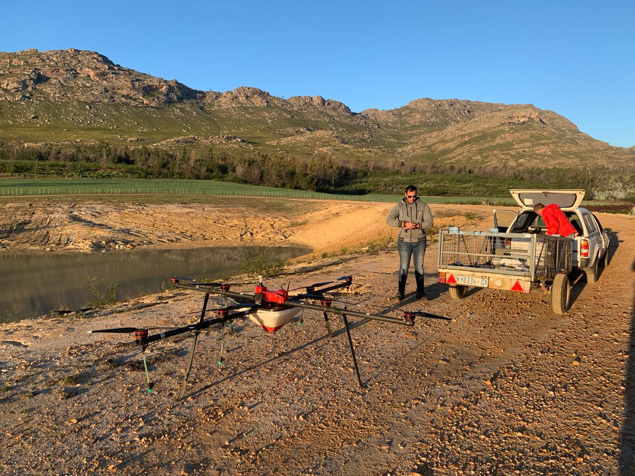 Karoo farmers take to the sky in efforts to curb invasive alien plants